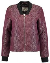 Selected Femme B&&B SFPIFA Giubbotto Bomber mauve wine