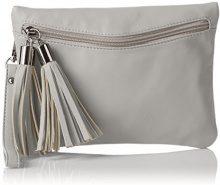 BoschaBo-1072-cs - Sacchetto Donna , grigio (grigio), 1x17x24 cm (B x H x T)