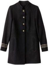 Cappotto con dettagli militari
