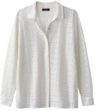 Camicia volume loose, in pizzo
