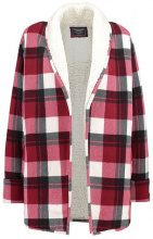 Abercrombie & Fitch SHERPA Cardigan red