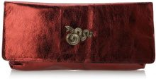 Sous les Pavés - Spleen, pochette donna, color Rosso (Metal Rubis/Serpent), talla One Size