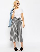 ASOS - Gonna pantalone a righe