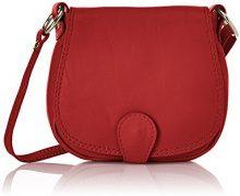 Chicca Borse 10016 Pochette da Giorno, 19 cm, Rosso