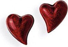 Heartbreaker - Orecchini a lobo da donna, argento sterling 925 e smalto, cod. LD LP 23 RM