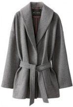 Cappotto vestaglia 50% lana