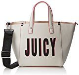 Juicy by Couture Arlington - Borse a mano Donna, White (White Print), 13x20.5x32 cm (W x H L)