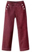Pantaloni larghi con ponte