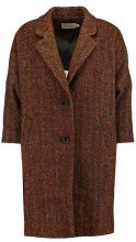 See u Soon BROWN WOOL COAT Cappotto classico brown melange