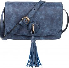 Borsa a tracolla con nappa (Blu) - bpc bonprix collection