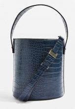 Topshop CHERRY TRUE BUCKET  Borsa a mano blue