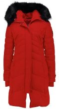Covert Overt Cappotto invernale dark red