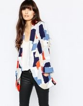 Selected - Prea - Blazer con stampa grafica