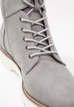 Anna Field Stivaletti stringati light grey