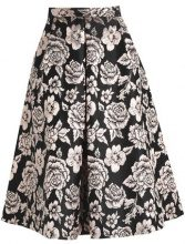 Dorothy Perkins ROSE GOLD FLORAL PROM SKIRT Gonna a campana rose gold