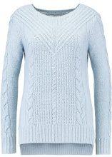 ONLY ONLLIVA BOATNECK  Maglione cashmere blue