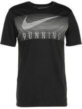 Nike Performance DRY Tshirt con stampa black