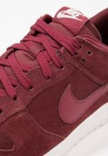 Nike Sportswear DUNK LOW Sneakers basse dark team red/summit white