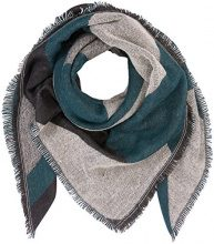 PIECES Pcjarissa Square Scarf, Cappello in Felto Donna, Multicolore (Black Black), Taglia Unica