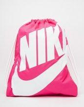 Nike - Heritage - Sacca da palestra rosa vivo