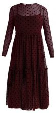 New Look SPOT DRESS Vestito elegante burgundy