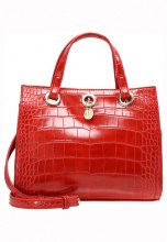 Armani Exchange Borsa a mano royal red