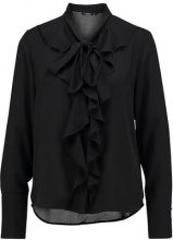 ONLY ONLNEW FRILL Camicetta black