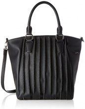 Sansibar Zip Bag - Borse a secchiello Donna, Schwarz (Black), 20x32x30 cm (B x H T)