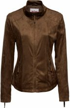 Giacca in similpelle scamosciata (Marrone) - John Baner JEANSWEAR