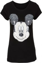 Maglia con paillettes reversibili (Nero) - Disney