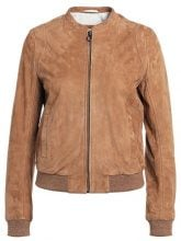 BOSS Orange JAFAY Giacca di pelle light/pastel brown