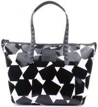 Borsa Shopping Gabsille  GILDA-E17 TEST Shopping Donna Geometrico B/n