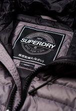 Superdry LUXE FUJI Giacca invernale comet silver