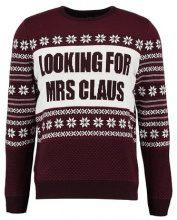 Burton Menswear London MRS CLAUS Maglione red