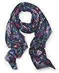 Cecil Flower Ornament Print Scarf, Cappello in Felto Donna, Blau (Deep Blue 30128), Taglia Unica