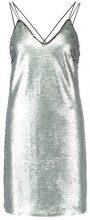 New Look GO MATTE SEQUIN SLIP Vestito elegante silver