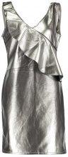 Vila VIFUTURI SHORT S/L DRESS 35 Vestito elegante silver