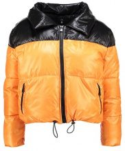 Missguided Petite COCOON EXTREME TONE BUBBLE COAT Giacca invernale black/orange
