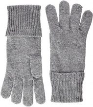 Tommy Hilfiger New ODINE Gloves, Guanti Donna, Grigio (Light Grey Heather Bc04-Vol39), Unica (Taglia Produttore: OS)