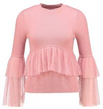 Lost Ink PLEATED  Maglione blush
