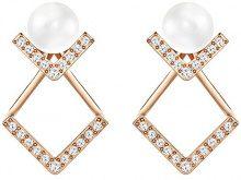 Swarovski–Orecchini da donna edify Acciaio Inossidabile Cristallo Trasparente–5197806