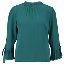 Dorothy Perkins FLORAL SLEEVE Camicetta green