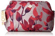 Oilily Ruffles Cosmeticpouch Lhz 2 - Pochette da giorno Donna, Rot (Dark Red), 11x18.5x25.5 cm (B x H T)