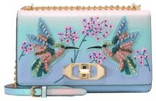 ALDO WENANG Borsa a tracolla light blue