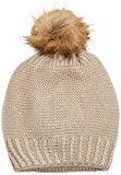 Mavi HAT, Berretto in Maglia Donna, Beige (Biscuit 24425), Taglia Unica