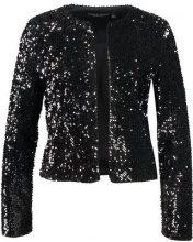 Dorothy Perkins BOXY SEQUIN Blazer black