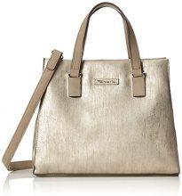 Tamaris Nadine Handbag - Borse a secchiello Donna, Gold (Gold Comb.), 11.5x23x29 cm (B x H T)
