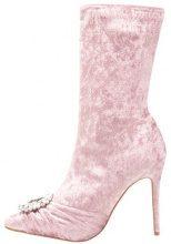 Public Desire DISTINCT Stivaletti con tacco glitter pink