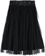 Lace & Beads PICASSO SKIRT Gonna a campana black