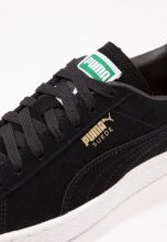 Puma SUEDE CLASSIC+ Sneakers basse blackteam gold/white